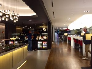 BA Business Class Lounge at Changi airport