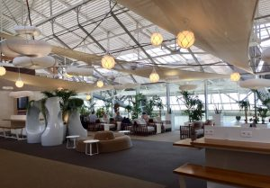 Canopy Lounge in Nice Airport